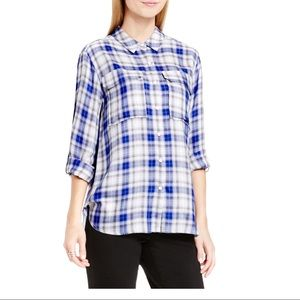 Two by Vince Camuto Soft Flannel Sz S